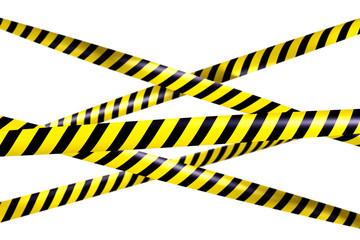 Blank caution tape