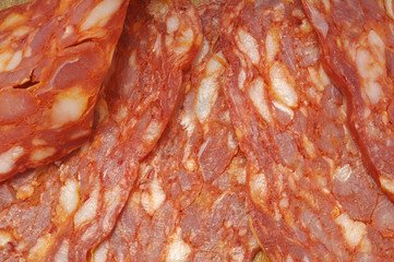Salame piccante, spianata calabra