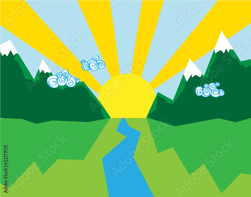 Happiness vector background.