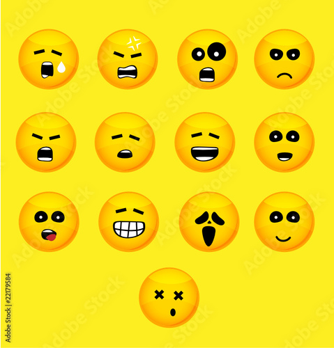 Set of smilies