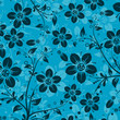 roleta: Decorative floral pattern, vector