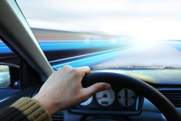 Speed on highway