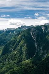 Slowenische Alpenlandschaft