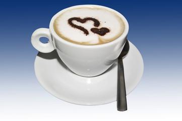 Cappuccino con Cuoricini  01 04 10