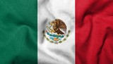 3D Flag of  Mexico