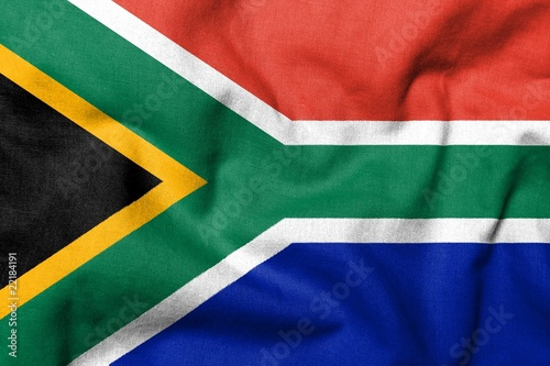 3D Flag of South Africa