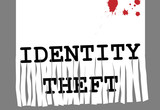 ID Identity theft fraud paper shredder security poster