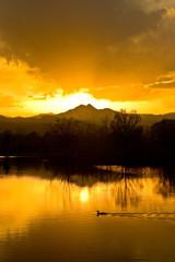 Twin Peaks On Golden Ponds