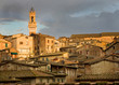 Siena Italy, in the Glow of the LAte Afternoon Sun