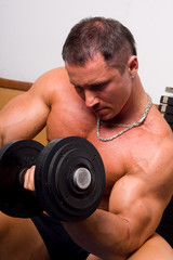 bodybuilder training