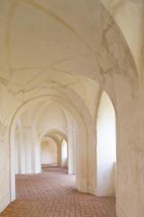 cloisters, Zelena Hora near Zdar nad Sazavou, Czech Republic