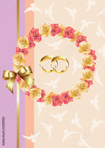 Wedding invitation/greeting card