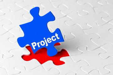 project blue puzzle