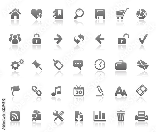 Website & Internet Icons // Basics Series