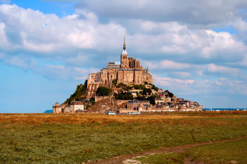 Mont Saint Michel, France, in the daylight