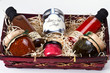 Gift basket with gourmet condiments and sauces. - 22197186