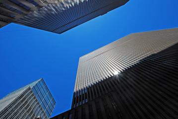 Office modern buildings