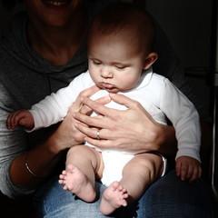 enfant et sa mère