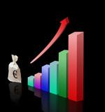 Metaphor of economical growth poster