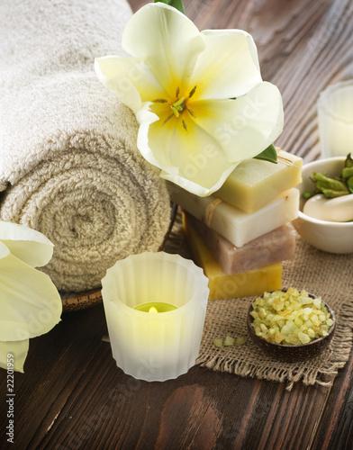 Leinwandbild Motiv Spa treatments