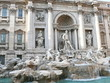 Di Trevi Fountain. Rome. Italy. Europe.