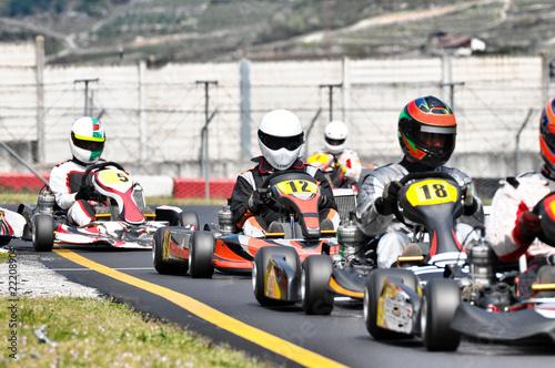 Competizione di Kart