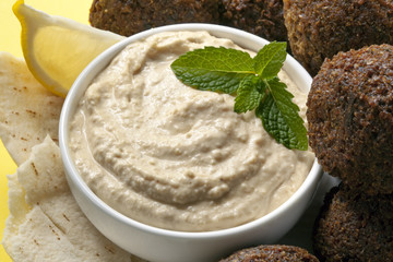 Hummus and Falafel