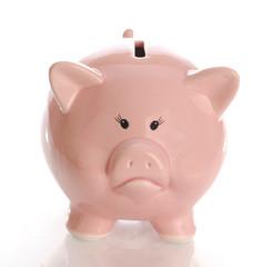 unhappy piggy bank