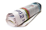newspaper roll