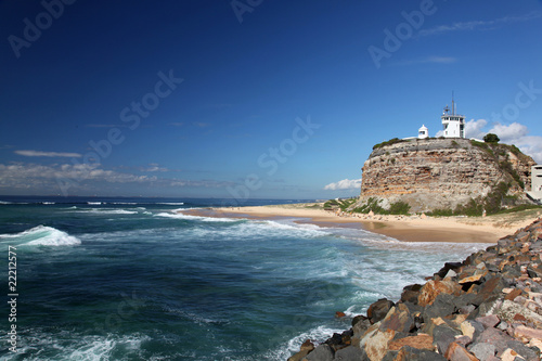 Nobbys Lighthouse - Newcastle Australia. - 22212577