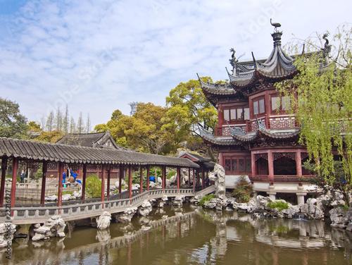 Jardin yu yuan shanghai china stock photo and for Jardin yu shanghai