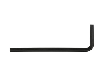 Allen wrench isolated on white