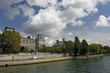 scene  of the Seine river,paris