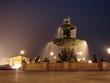 Leinwanddruck Bild - Place de la concorde - La fontaine des Mers