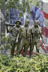 Soldiers of Vietnam Memorial part one