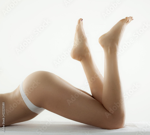 jambes nues sensualité