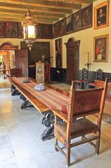 Antique aristocratic room