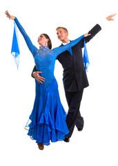Ballroom Dancers Blue 04