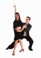 Ballroom Dancers Black 12