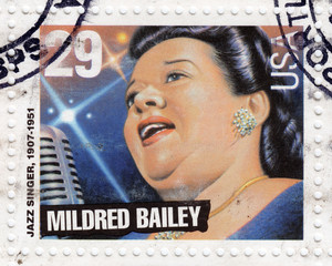jazz singer Mildred Bailey