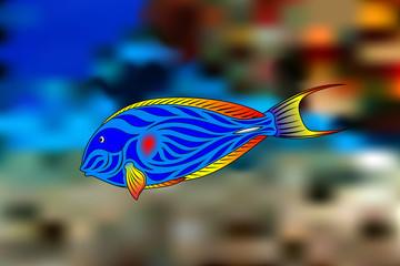 Fish-surgeon