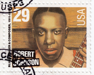 blues singer Robert Johnson