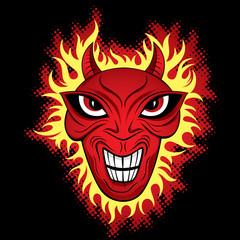Angry Devil Monster