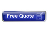 button free quote with pen and a paper poster