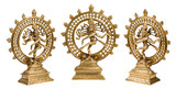 Statues of Shiva Nataraja - Lord of Dance isolated poster