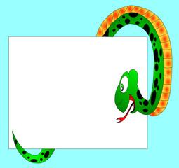The Green snake