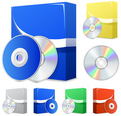 Software boxes and disks