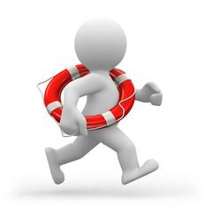 running lifeguard
