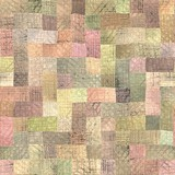 multicolor patchwork seamless texture.. poster