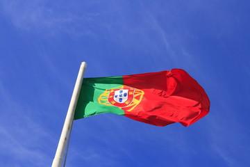 Die Flagge Portugals
